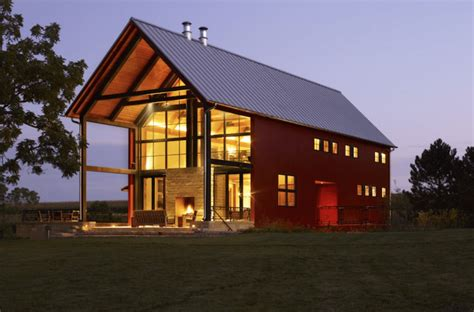 modern farmhouse ranch this repurposed barn home is utterly breathtaking