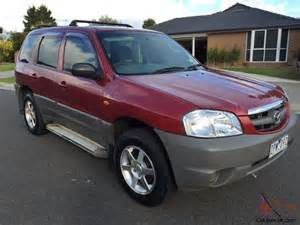 mazda tribute limited 2002 rego until 16 03 20016 4d wagon