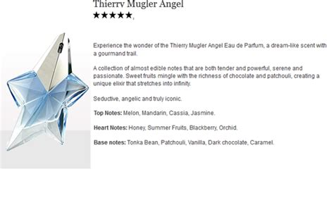 Berapa Parfum The Shop genie collection thierry mugler scent shop