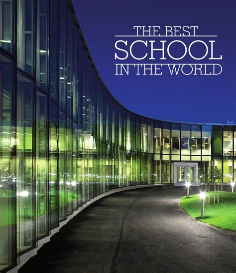 best school the best school in the world seven exles from