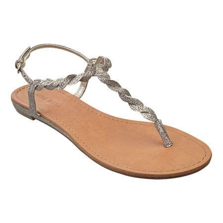 nine west braided sandals glitter braided 1 quot sandal with adjustable buckle