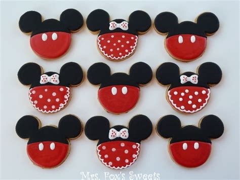 25 best ideas about mickey mouse cookies on