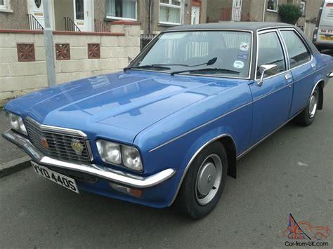 vauxhall blue 1978 vauxhall vx 2300 gls blue