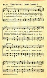 Paper Song - vintage sheet to print so you don t to use the