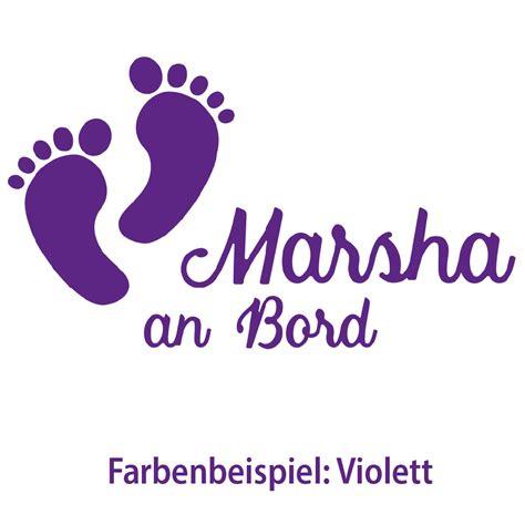 Aufkleber Baby Fussball by Aufkleber Babyf 252 223 E An Bord Name Wunschname F 252 223 E Fu 223 Abdruck
