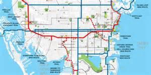florida trail map pdf bike map st petersburg florida trail rail
