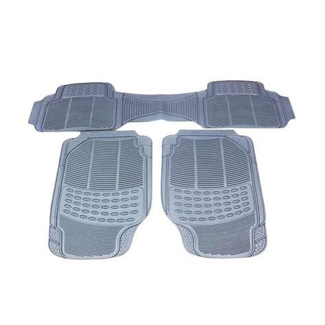 Murano Karpet Mobil Durable 3pcs Karet Pvc Universal Gray jual durable comfortable universal pvc karpet mobil for nissan x trail grey 3 pcs