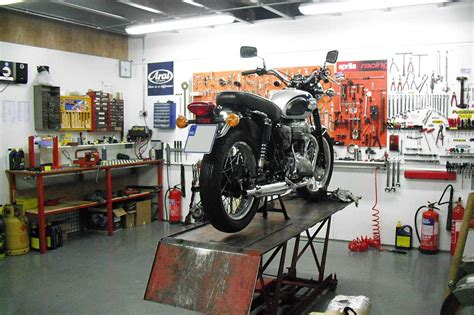 Garage Workshop Layout Ideas motorcycle workshop wallpaper