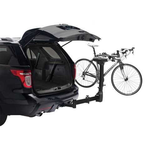 swing away bike rack review com thule 9031xt vertex swing away 4 hitch mount