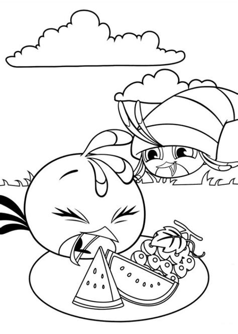 coloring pages angry birds stella kids n fun com 11 coloring pages of angry birds stella