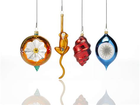 Tree Branch Decorations In The Home blown glass ornaments st nicholas hand blown glass