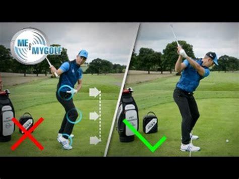 fix your golf swing fix your heel strike golf swing tip youtube