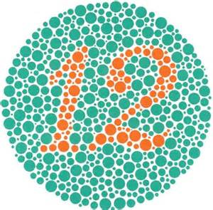 Green Yellow Color Blind Ishihara Color Blindness Test The Ishihara Color