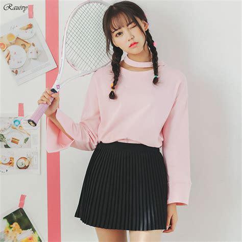 aliexpress buy ulzzang 2017 korean kawaii clothes hoodies summer fashion embroidery