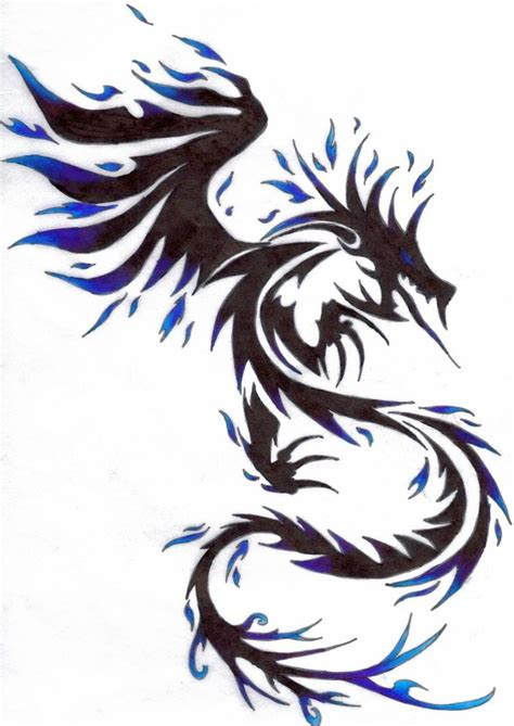 dragon tattoo tribal tatts pinterest this is awesome