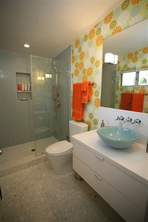 orange and green bathroom how to choose colors for a bathroom interior design