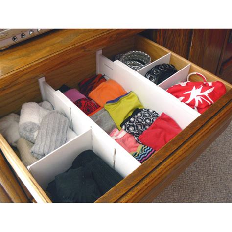 Dresser Drawer Organizers by Expandable Dresser Drawer Dividers In Drawer Dividers