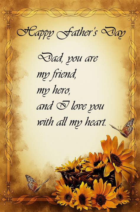 fathers day poems to my husband you are my friend my and i you with all my