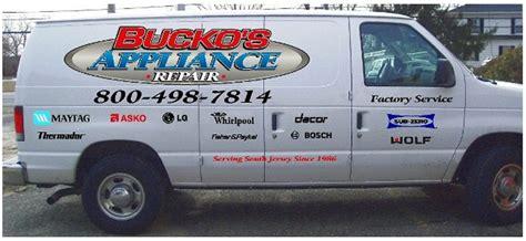 south appliance repair appliance repair south jersey bucko s appliance repair