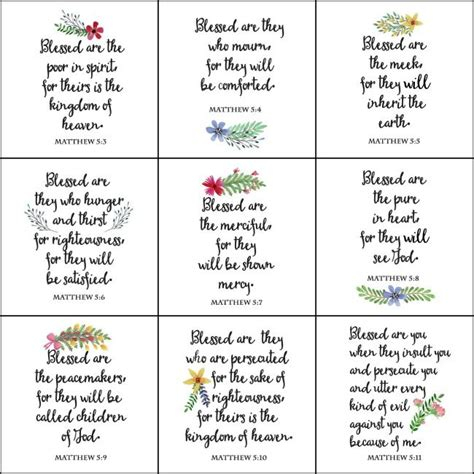 Beatitudes Printable Worksheets by 25 Best Ideas About The Beatitudes On