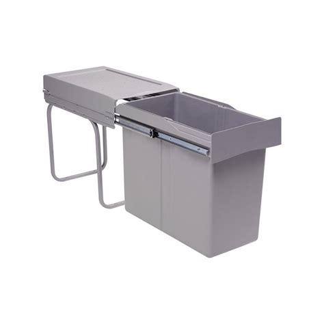 poubelle de cuisine coulissante poubelle de cuisine coulissante 1 bac 30 litres