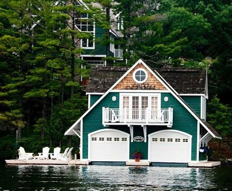 Cottages With Boats cottage with a matching boat house 0 log homes