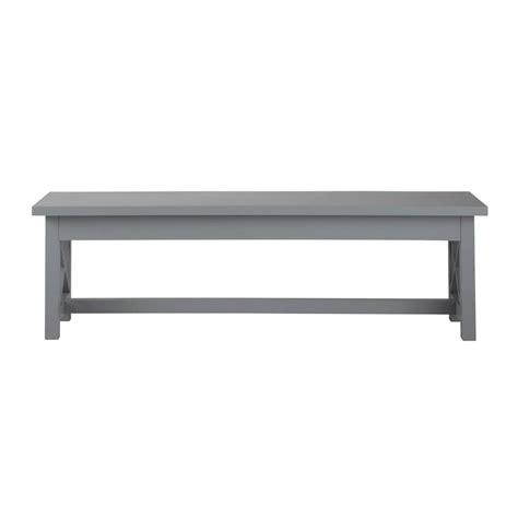 grey bench grey wood table bench newport newport maisons du monde
