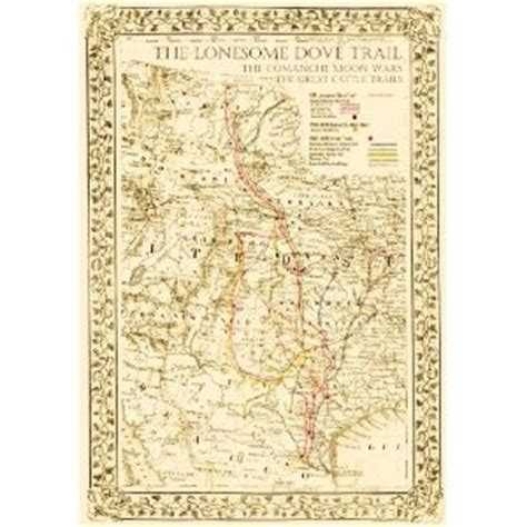 lonesome dove map lonesome dove map this that and everything when raising