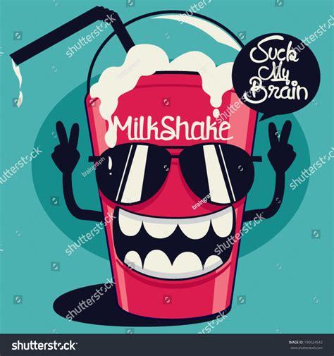 imagenes be cool cool milkshake stock vector 190524542 shutterstock