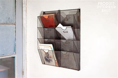 Wire Magazine Rack Wall Mount by Wire Mesh Wall Mount Magazine Rack Images