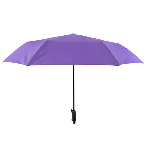 novelty purple selfie stick compact umbrella susino
