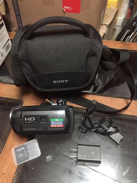camaras sony handycam camara de sony hd handy con proyector 4 000