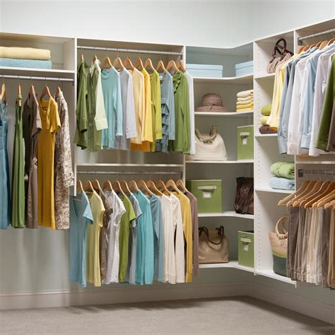 Walk In Closet System by Closet Organization Made Simple By Martha Stewart Living