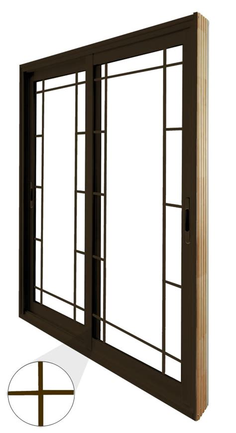 6 Ft Patio Doors Stanley Doors Sliding Patio Door Prairie Style