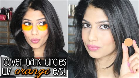 what color covers circles how to cover circles with orange eyeshadow does it