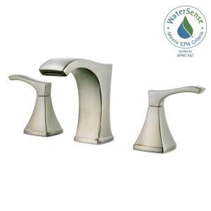 Abc Gift Cards Bbb - pfister venturi 8 in widespread 2 handle bathroom faucet in brushed nickel lf 049