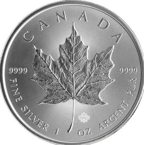 1 oz 2015 canadian maple leaf silver coin 2015 1oz canadian silver maple leaf coin with micro