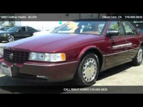 1992 cadillac seville lower plate removal 1992 cadillac seville sts for sale in inglewood ca 90301 youtube