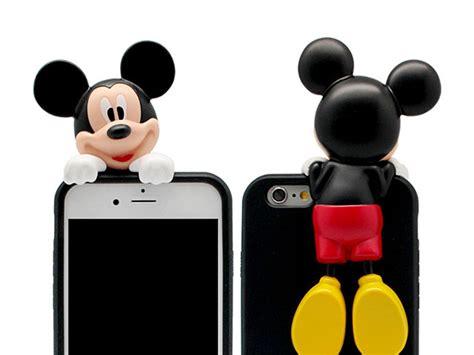 Mickey Deadpool Y1394 Iphone 7 iphone 7 3d mickey mouse jelly