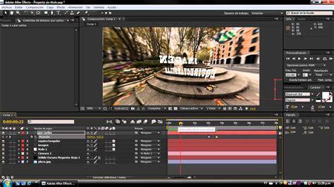 tutorial after effect en pdf rotacion de una imagen en 360 grados tutorial after