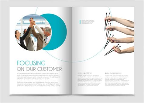 the best layout design brochure the best minimal brochure designs smashing buzz