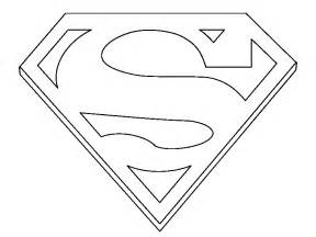 Coloring Books Superman Sign To Print And Free Download sketch template