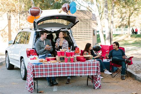 game on tailgate party guide evite