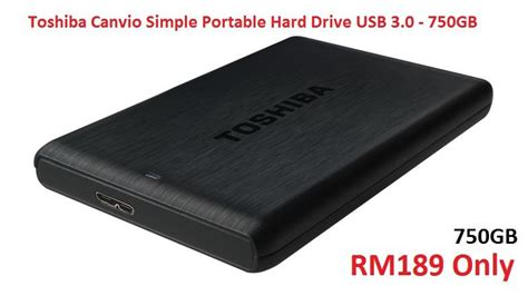 Hardisk Toshiba 1 toshiba canvio 3 0 usb hdd external end 2 2 2019 10 15 am