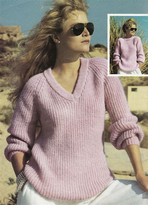 knitting pattern sweatshirt jumper v and a vintage knitting patterns crochet and knit