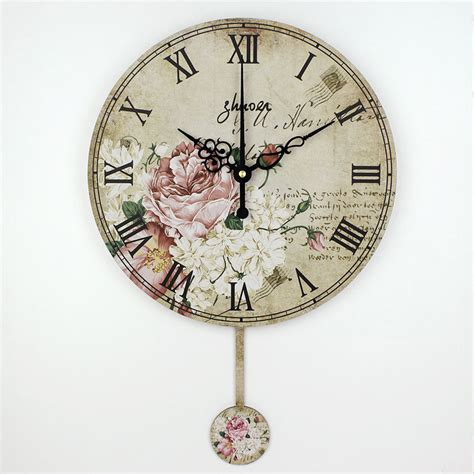 fashion meeting room wall decor clocks absolutely silent vintage large decorative wall clock absolutely silent