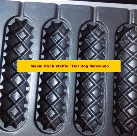 Mesin Waffle Mesin Waffle Hotdog mesin stick waffle wafel toko mesin maksindo toko mesin maksindo