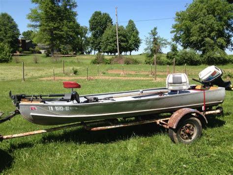 aluminum fishing boats craigslist 14ft 1960 aerocraft k 14 aerocraft boats