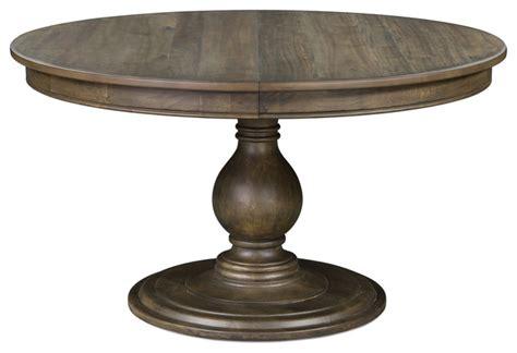 grey acacia dining table magnussen karlin pedestal dining table in grey