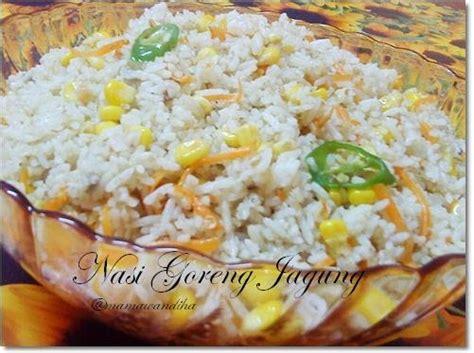 Minyak Goreng Jagung dari dapur madihaa nasi goreng jagung